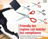 Friendly tax regime can bolster tax compliance